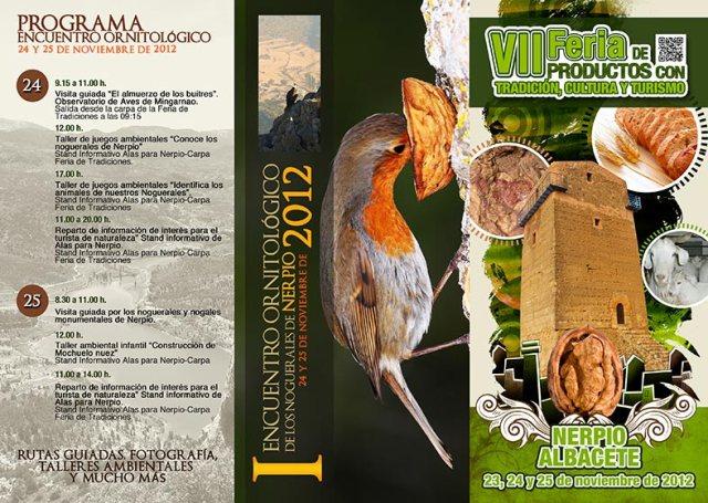 I Encuentro Ornitológico de los Noguerales de Nerpio, 24 y 25 de Noviembre