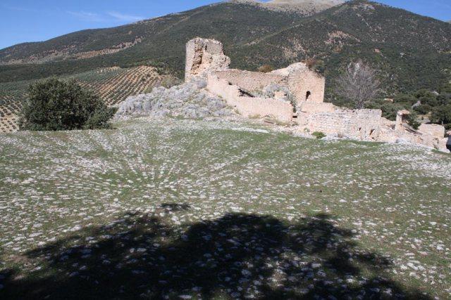 Era y Castillo de Mata Begid en Sierra Magina Jaen